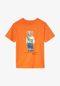 Polo Ralph Lauren - T-shirt con stampa - bright signal orange - 2
