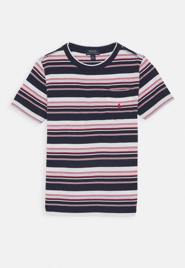 Camiseta estampada - newport navy/multi