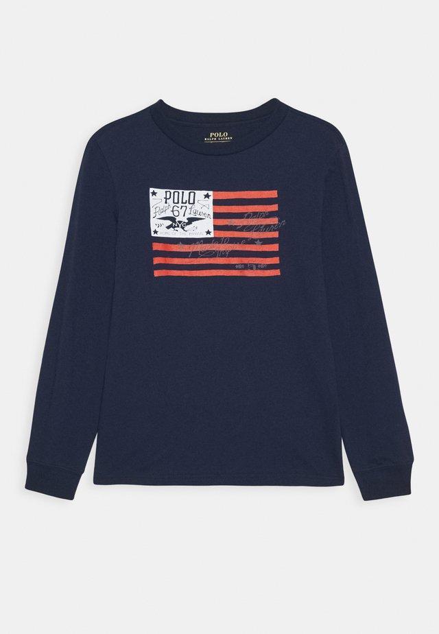 T-shirt à manches longues - newport navy