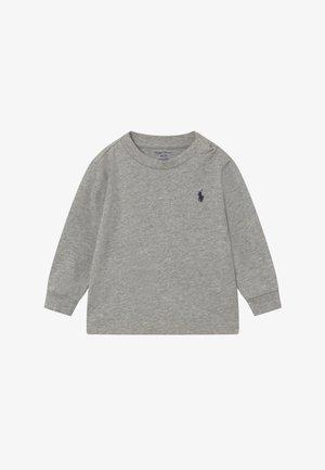 Langærmede T-shirts - andover heather