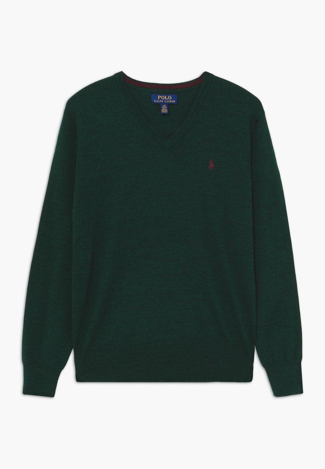 Pullover - forest green heather