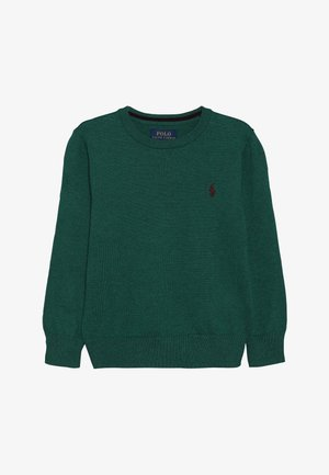 Stickad tröja - green/light green