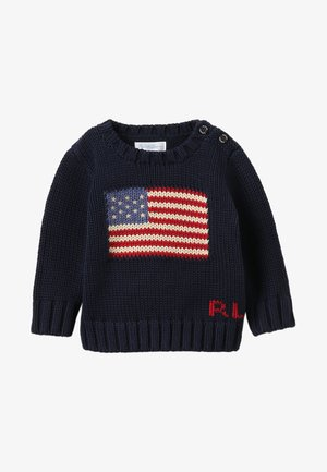 FLAG BABY - Maglione - hunter navy