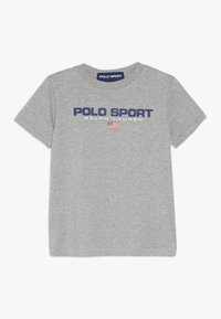 Polo Ralph Lauren - T-shirt med print - andover heather - 0
