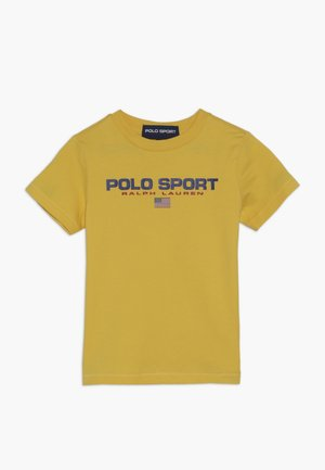 T-shirts med print - chrome yellow