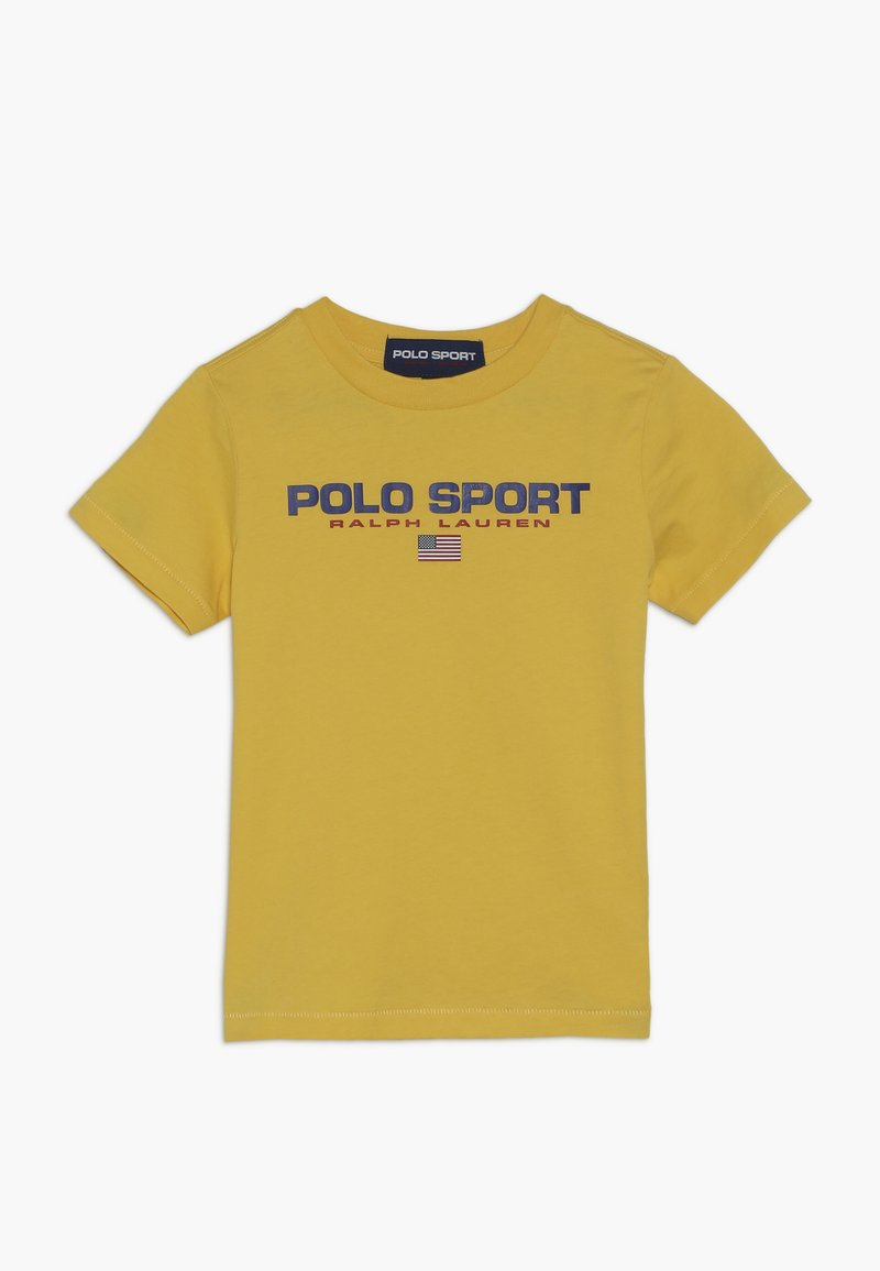 Polo Ralph Lauren - T-shirt med print - chrome yellow