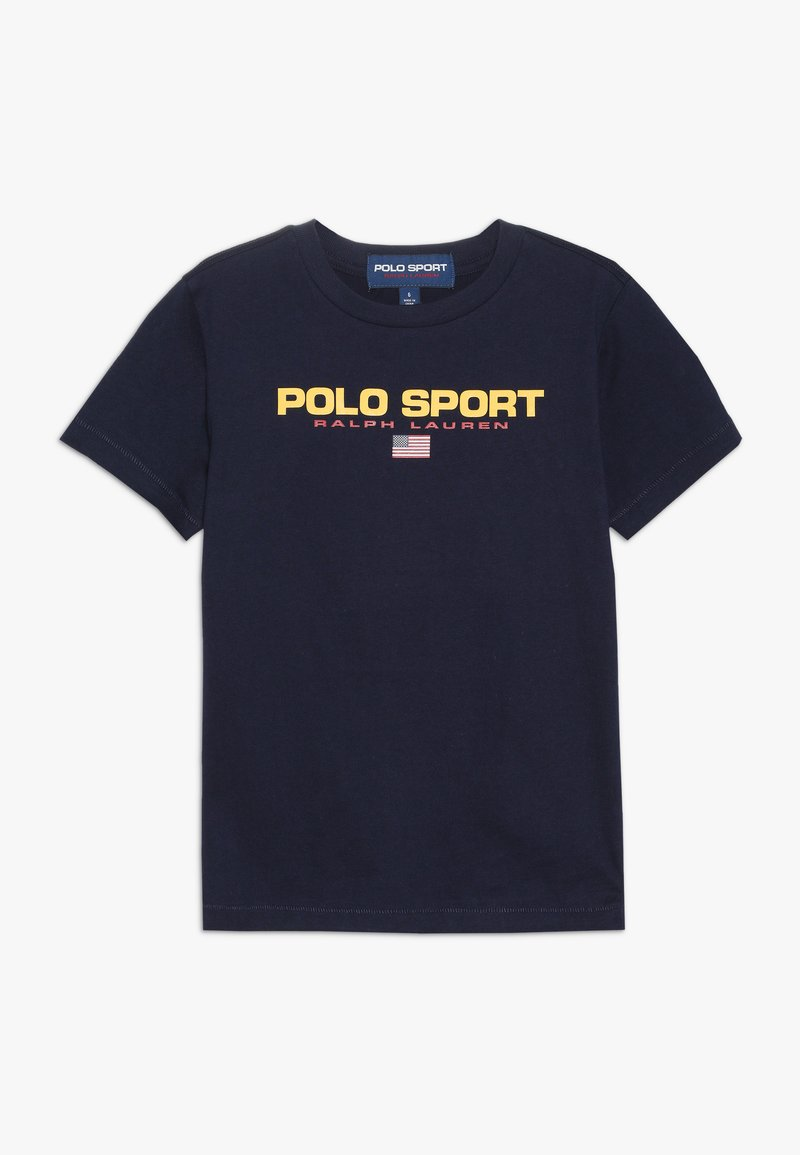 Polo Ralph Lauren - T-shirt med print - cruise navy