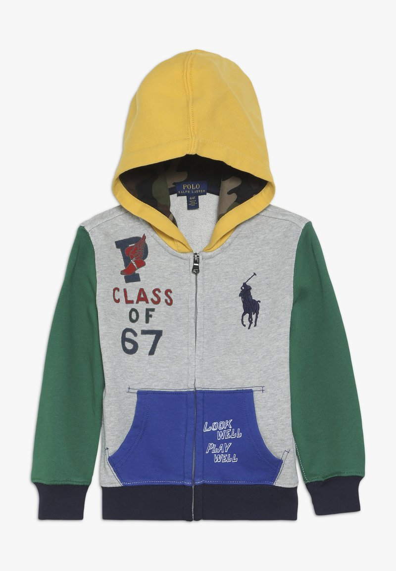 Polo Ralph Lauren - HOOD - Sudadera con cremallera - light grey heather