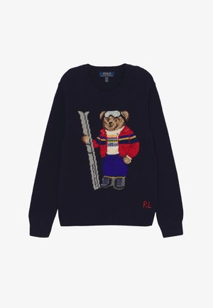 BEAR SWEATER - Maglione - navy