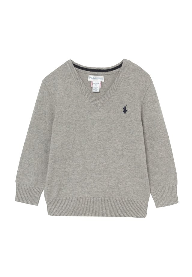 SWEATER BABY - Strikpullover /Striktrøjer - dark sport heather