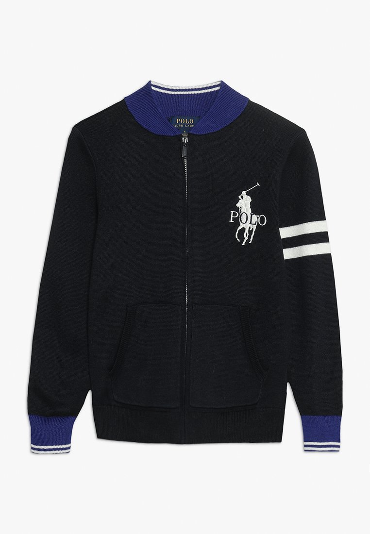 Polo Ralph Lauren - BBALL - Chaqueta de punto - hunter navy/multicolor