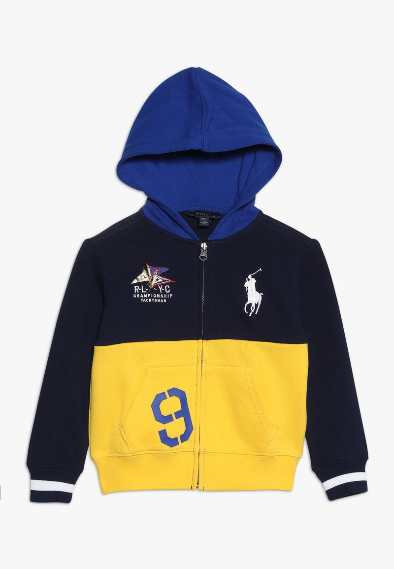 Polo Ralph Lauren - ATLANTIC TERRY HOOD - Sportovní bunda - yellow fin