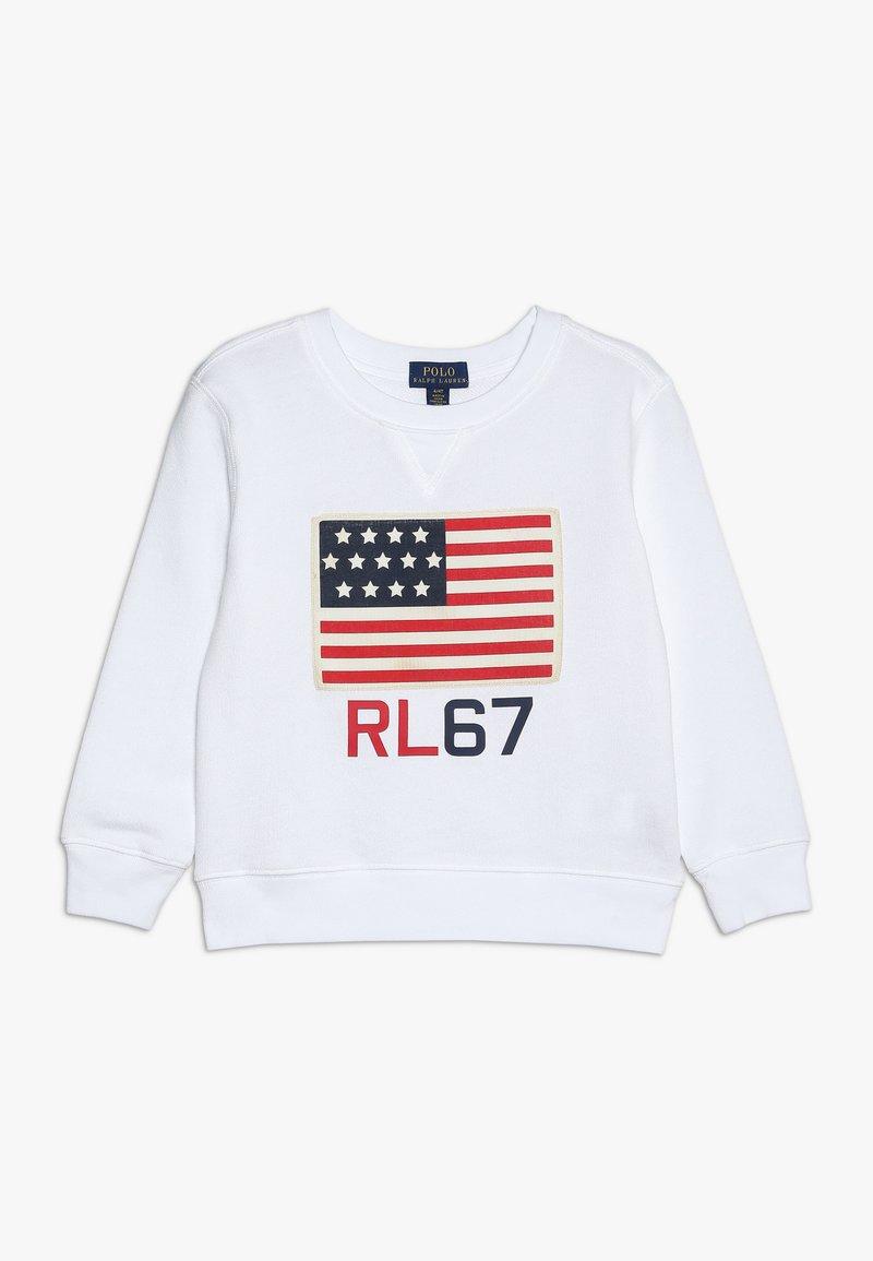 Polo Ralph Lauren - TERRY - Sweatshirt - white