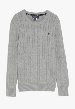 Sweter - dark sport heather