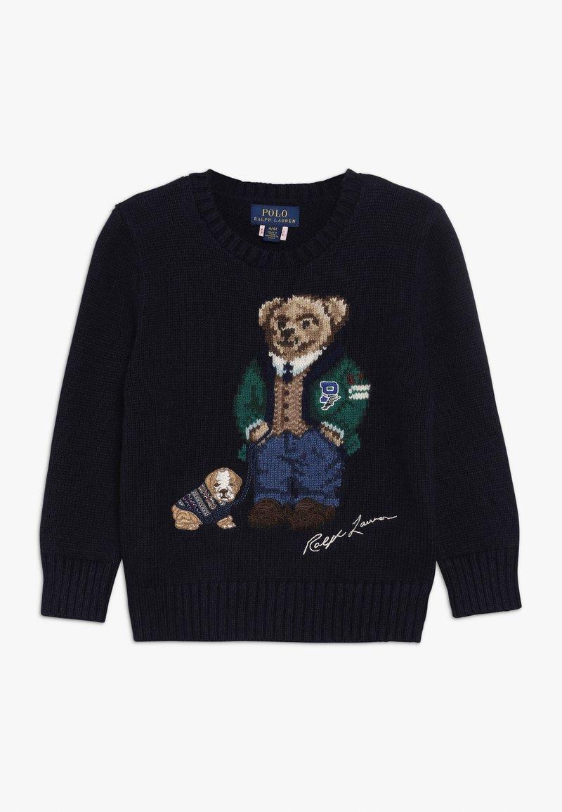 Polo Ralph Lauren - BEAR - Sweter - navy
