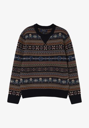 FAIRISLE - Sudadera - navy/multicolored