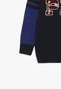 Polo Ralph Lauren - VARSITY - Neule - navy/multicoloured - 3