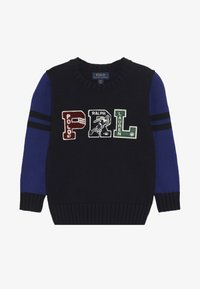 Polo Ralph Lauren - VARSITY - Neule - navy/multicoloured - 2