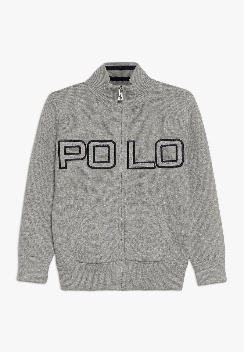 Polo Ralph Lauren - Zip-up hoodie - dark sport heather
