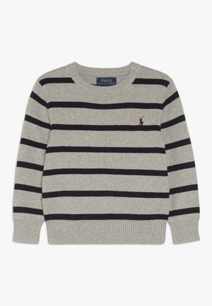 STRIPE - Pullover - dark sport heather