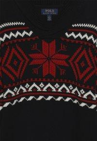 Polo Ralph Lauren - SHAWL - Pullover - black/multi - 3