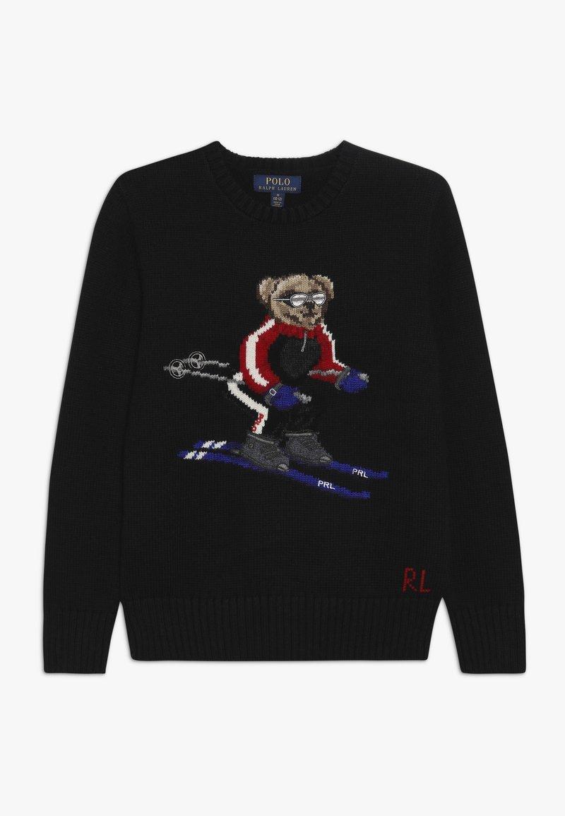 Polo Ralph Lauren - BEAR  - Strickpullover - black