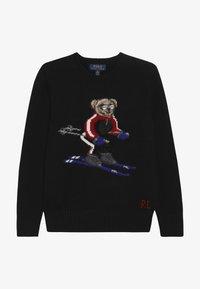 Polo Ralph Lauren - BEAR  - Strickpullover - black - 2