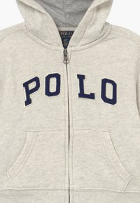 Polo Ralph Lauren - veste en sweat zippée - new sand heather - 3