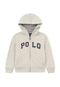 Polo Ralph Lauren - veste en sweat zippée - new sand heather - 0