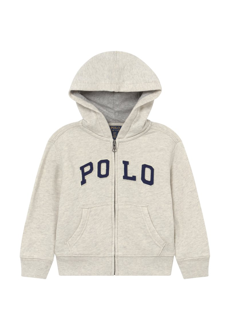 Polo Ralph Lauren - veste en sweat zippée - new sand heather