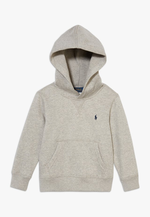 HOOD TOPS - Sweat à capuche - dark heather