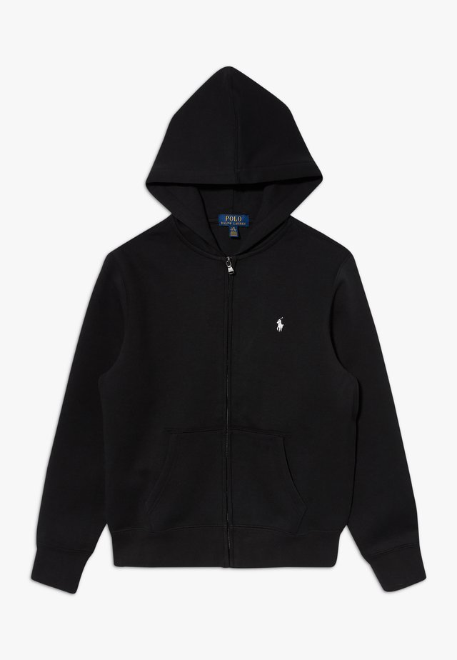 Sweat à capuche - polo black
