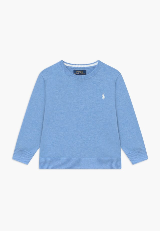 Strikpullover /Striktrøjer - medium blue heather