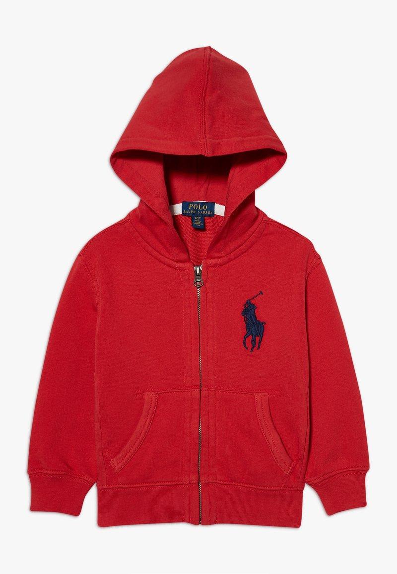 Polo Ralph Lauren - HOOD - Hoodie met rits - evening post red