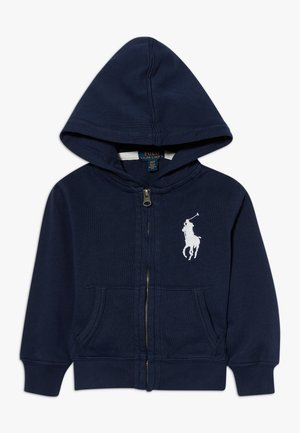 HOOD - veste en sweat zippée - newport navy