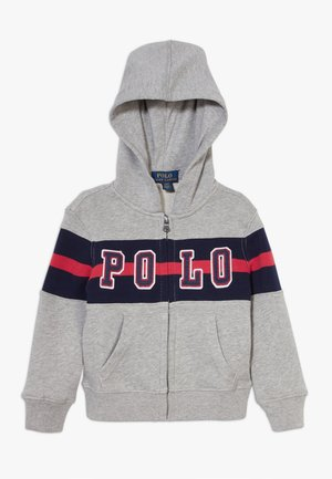 HOOD - Mikina na zip - andover heather