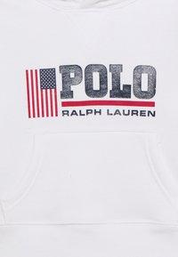 Polo Ralph Lauren - HOOD - Sweat à capuche - white - 2