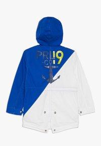 Polo Ralph Lauren - DENSE POPLIN MARSH - Parkas - white/sapphire star - 1