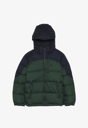 OUTERWEAR JACKET - Bunda z prachového peří - new forest/french navy
