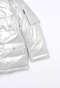 Polo Ralph Lauren - MILITARY OUTERWEAR JACKET - Piumino - silver - 4