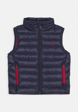 PACKABLE OUTERWEAR VEST - Smanicato - newport navy