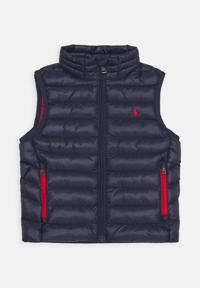 PACKABLE OUTERWEAR VEST - Vesta - newport navy
