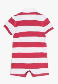 Polo Ralph Lauren - RUGBY ONE PIECE  - Tuta jumpsuit - sunrise red multi - 1