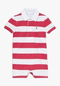 Polo Ralph Lauren - RUGBY ONE PIECE  - Tuta jumpsuit - sunrise red multi - 0