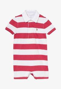 Polo Ralph Lauren - RUGBY ONE PIECE  - Tuta jumpsuit - sunrise red multi - 2
