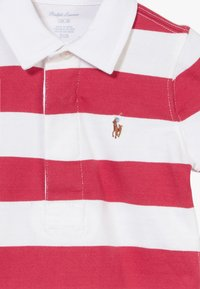 Polo Ralph Lauren - RUGBY ONE PIECE  - Tuta jumpsuit - sunrise red multi - 3
