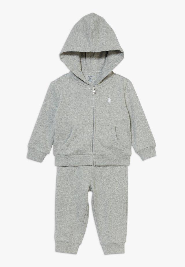 BOY SET - Träningsset - light grey heather