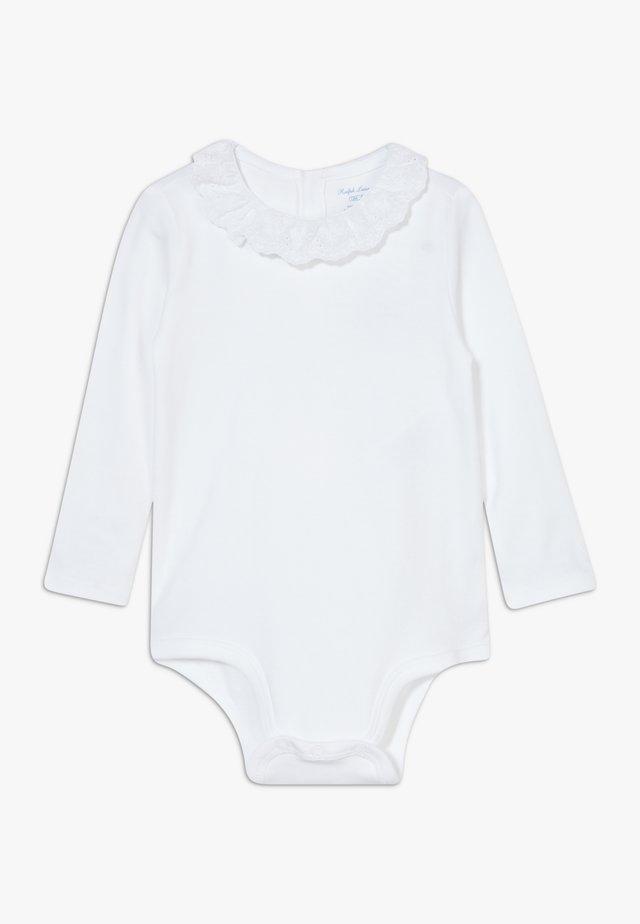 EYELET ONE PIECE  - Body - white
