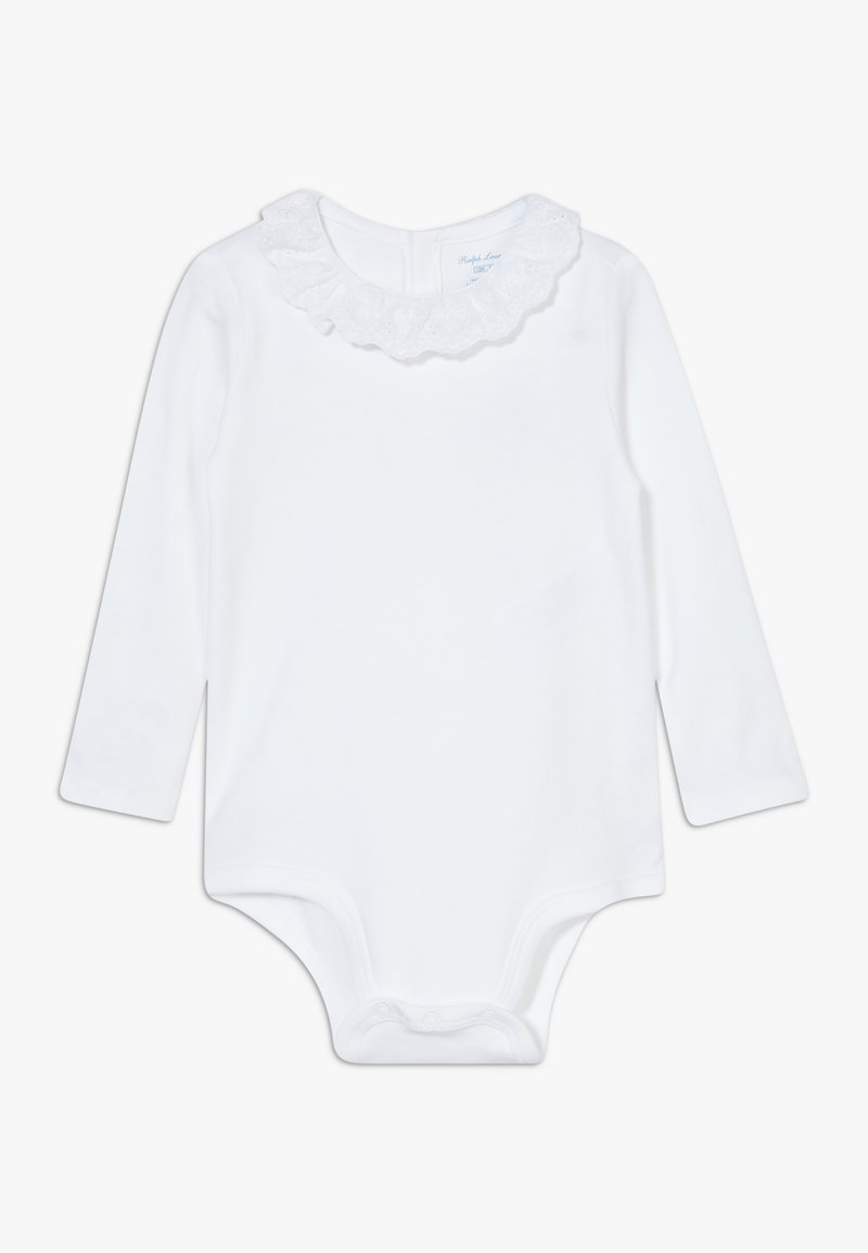 Polo Ralph Lauren - EYELET ONE PIECE  - Body - white