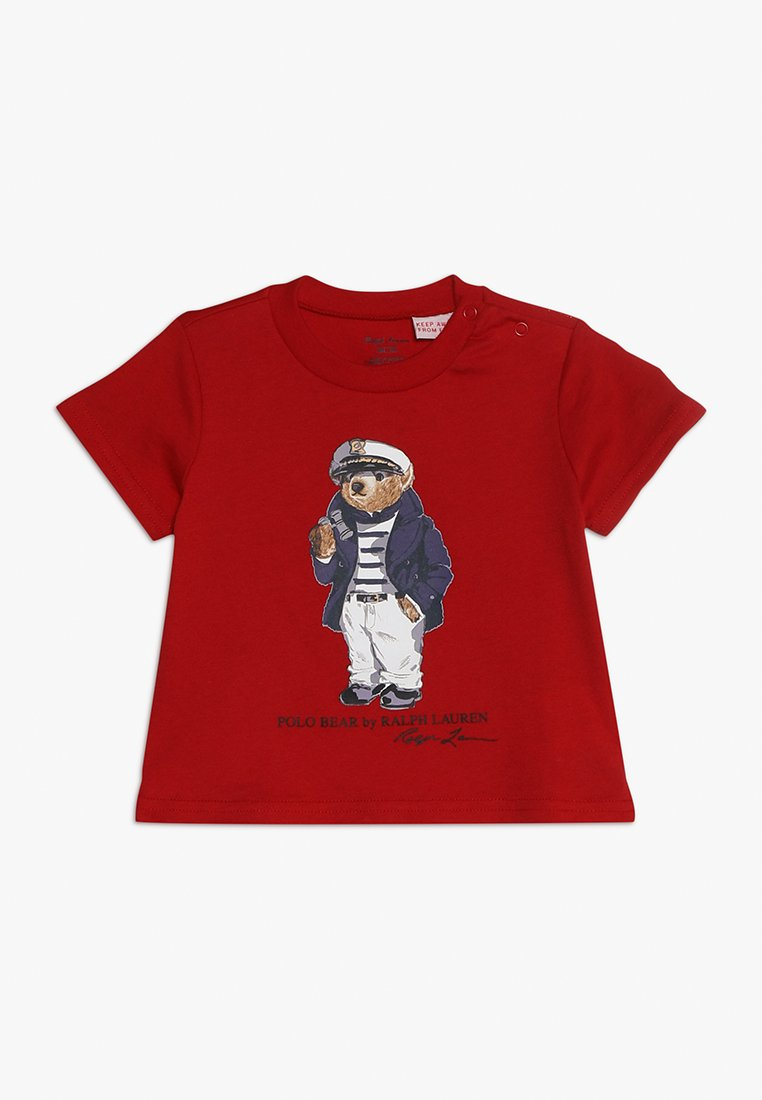 Polo Ralph Lauren - BEAR TEE - T-shirt con stampa - red